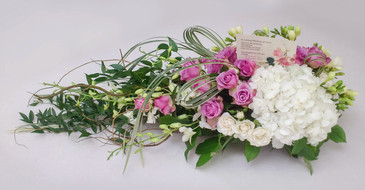 Hydrangea, Rose and Orchid