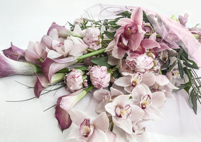 Luxury Orchid, Calla and Peony