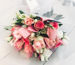 Pastel Rose and Lisianthus