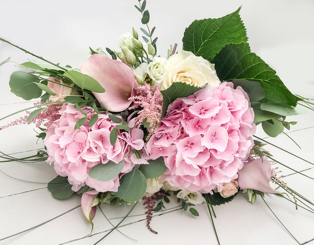 Luxury Hydrangea, Calla and Rose