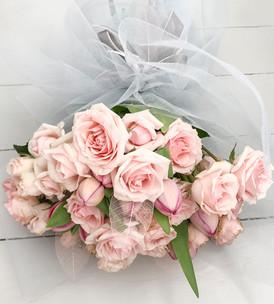 Garden Rose and Tulip