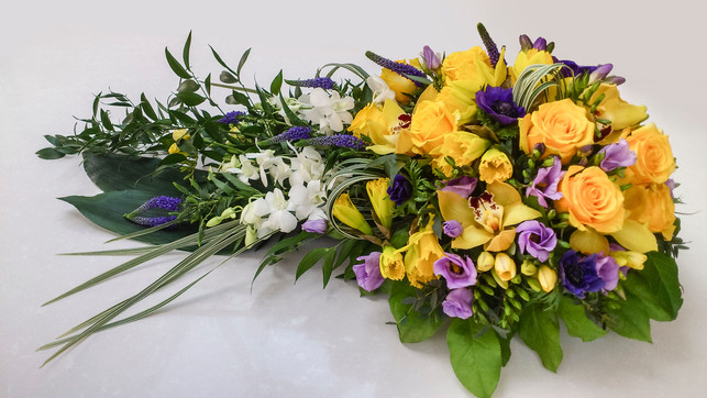 Rose, Freesia and Orchid