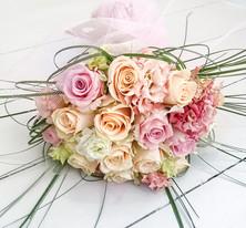 Ranunculus and Rose