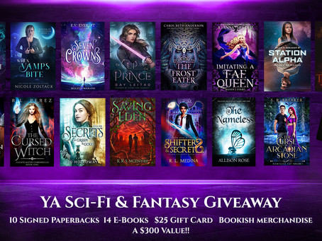 You're Invited! Come talk nerdy with us at YA Sci-Fi & Fantasy Addicts!