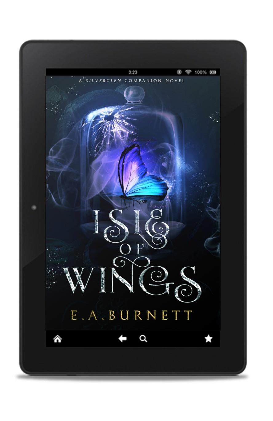 YA Author Interview - E.A. Burnett - Isle of Wings