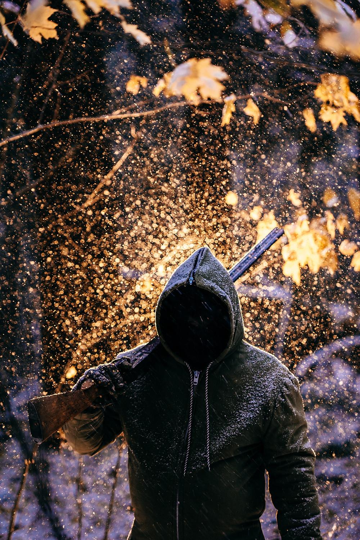 Dark Fantasy Story Ideas - Dark Hooded Figure Perfect for Grimdark