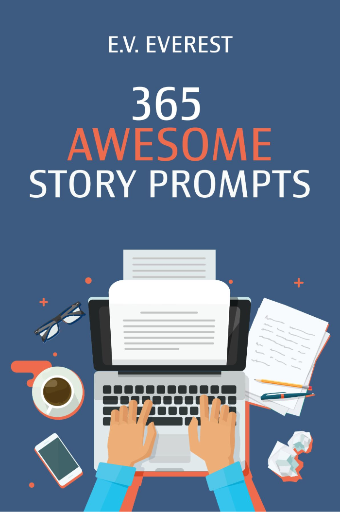 365 Awesome Story Prompts Book Cover