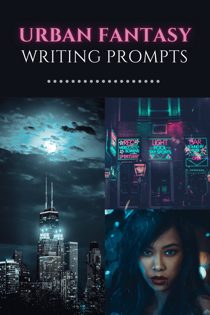 urban fantasy writing prompts