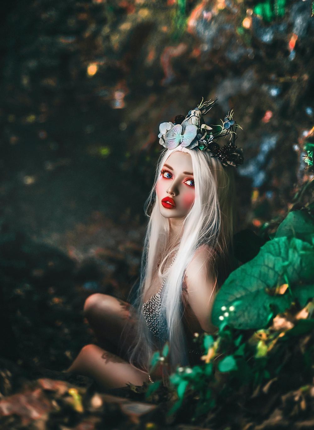 Fairy Tale Writing Ideas - Mermaid on Land