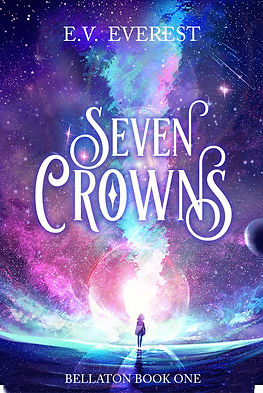 Seven Crowns by E.V. Everest book cover