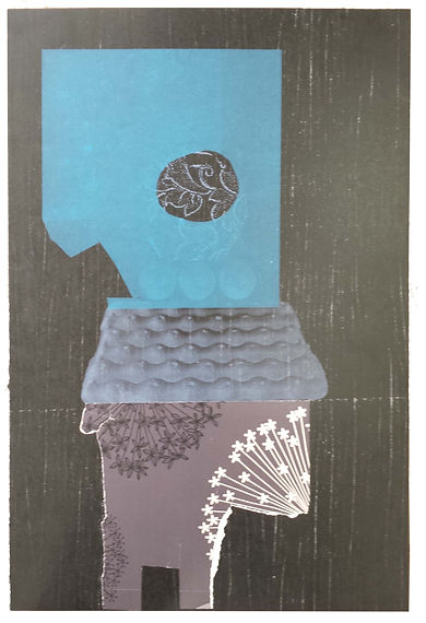 Helen Hayward Artist, The Flot Flot Series 2016, MA Printmaking Camberwell, UAL, mixed media print, monoprint, collage, relief print, photolitho, lithography