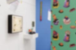Helen Hayward atist, Kingsgate Project Space, Wallpaper, cakes, Seb Thomas, Phil Allen