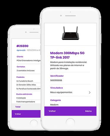 Auvo - aplicativo para gestão de ativos