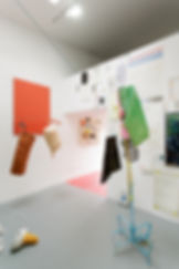 Helen Hayward artist, Seb Thomas, Mark Siebert, Kingsgate project space,