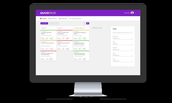 Helpdesk para gestão de equipes - Auvo