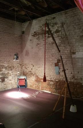 Helen Hayward & Seb Thomas Stagestuck Installation 2016