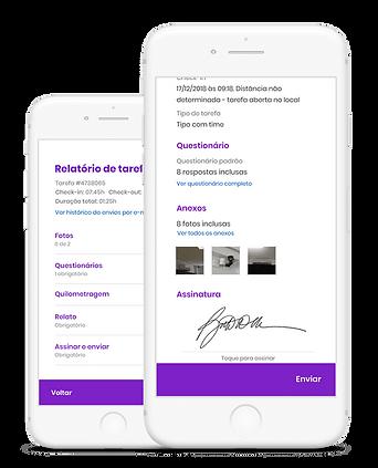 Auvo - aplicativo para gestão da manuten