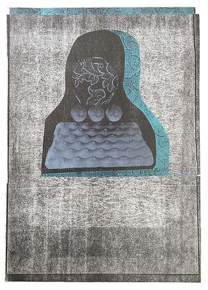 Helen Hayward, lithograph