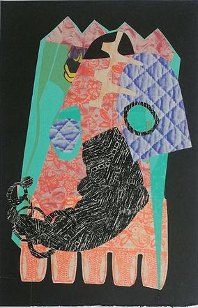 Helen Hayward, Helen Hayward artist, print, collage, print collage