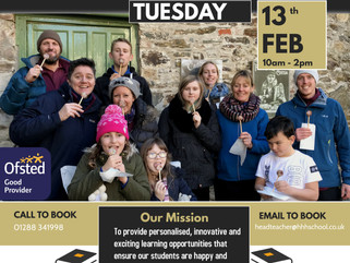 OPEN DAY 13th February 2018