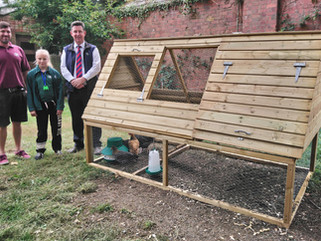 Chickens living the high-life thanks to Mole Valley Farmers