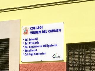 Colegio Virgen del Carmen Visit by HHHS's founder