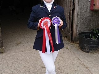 Daisy qualifies for RDA National Dressage Championships