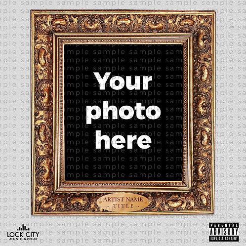 Photo Cover Art - Golden Frame