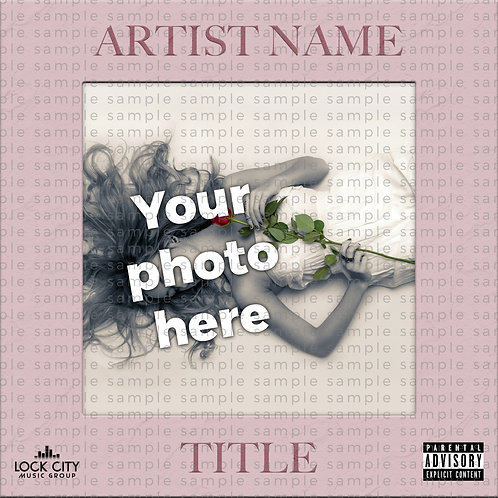 Photo Cover Art - Etched Frame