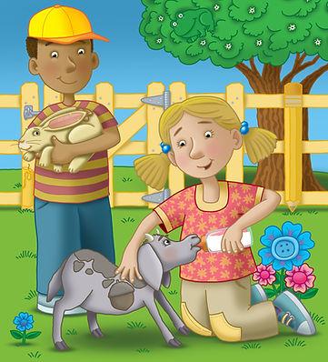 Art for Highlights For Children