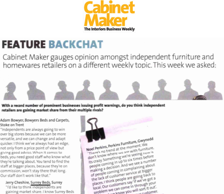 The Beducator Featured in Cabinet Maker
