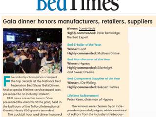 Surrey Beds featured in Bedtimes