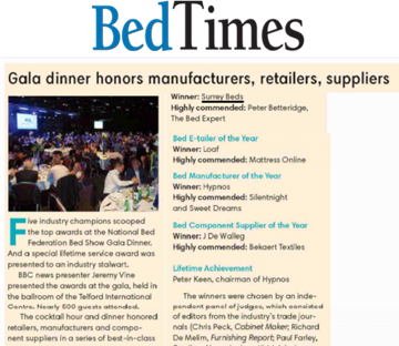 Surrey Beds Featured In Bed Times
