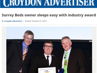 Surrey Beds owner sleeps easy