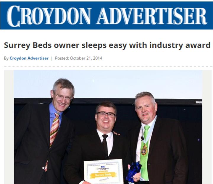 Surrey Beds owner sleeps easy