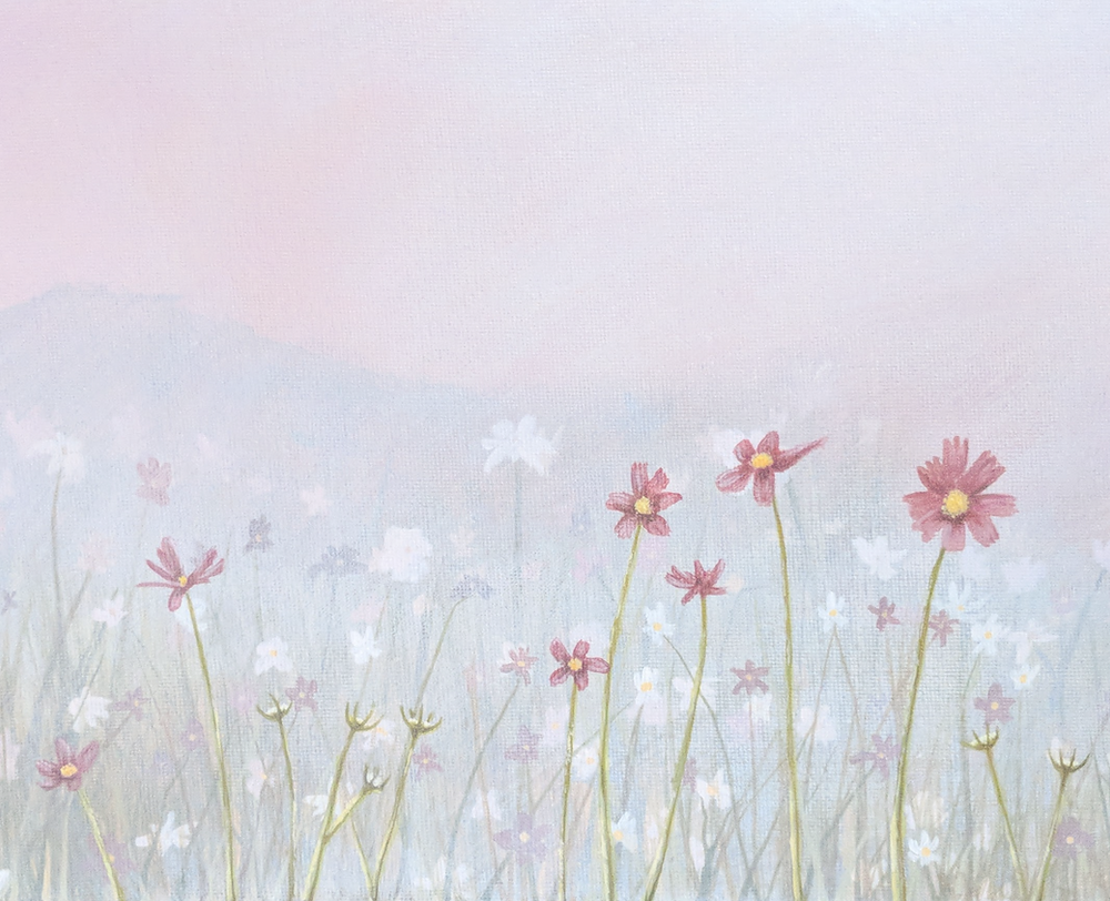 Painting by artist Kari Weatherbee