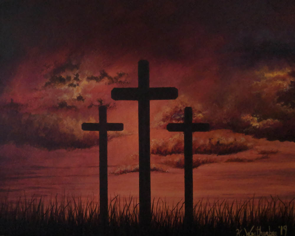 Christian artwork by artist Kari Weatherbee