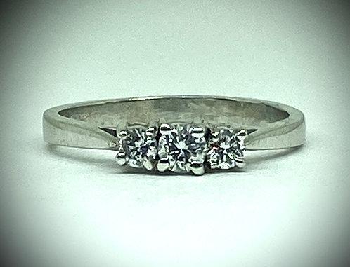 Past, Present & Future Diamond Ring
