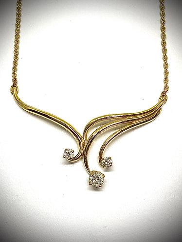 Diamond Focal Necklace