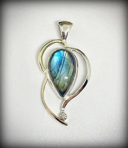 Labradorite & Diamond