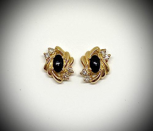 Black Onyx & Diamonds