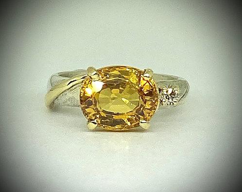 Created Sapphire & Diamond