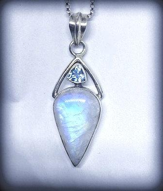 Moonstone & Blue Topaz