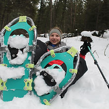morgan in snowshoes.JPG