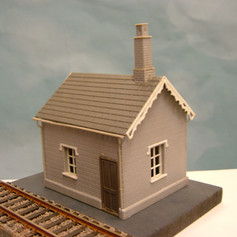 PSW10 LEVEL CROSSING KEEPERS COTTAGE STONE