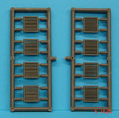 B12 LOUVRES PACK OF 16