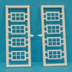 B20 WINDOWS 6 PANE 18MM X 12MM PACK OF 20