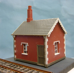 PSW9 LEVEL CROSSING KEEPERS COTTAGE BRICK