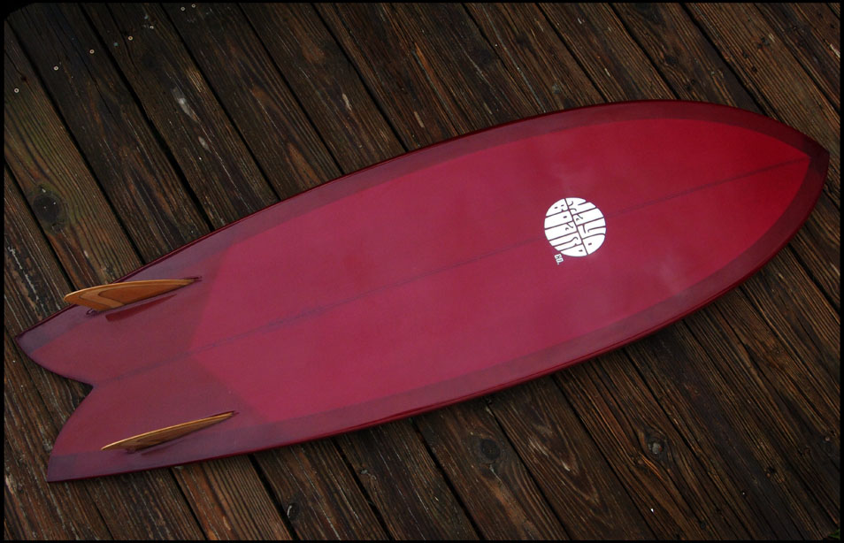 ruby red twin keel