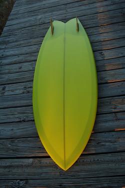 apple green twin keel - bottom